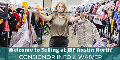 Consignor Drop Off Info & Waiver - JBF Austin North Winter 2020 tickets