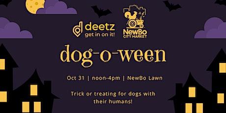 Dog-o-ween at NewBo City Market tickets