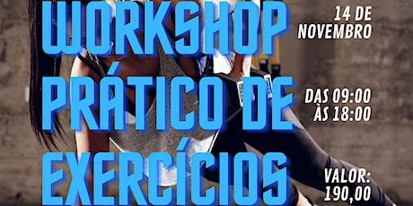 Workshop prático de exercícios ingressos