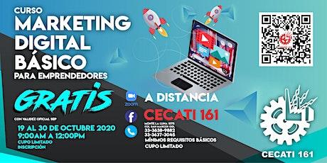 Marketing Digital Básico entradas