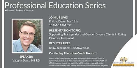 FL Professional Education Series: Supporting Transgender and Gender Diverse tickets