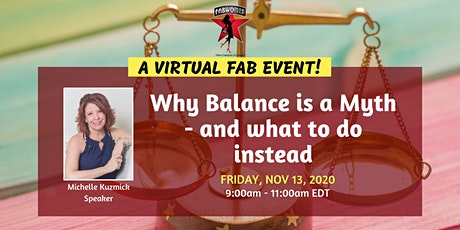 Why Balance is a Myth – and what to do instead tickets