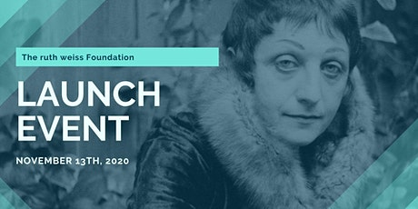 The ruth weiss Foundation Virtual Launch Celebration tickets