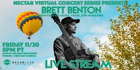 NVCS  presents BRETT BENTON tickets