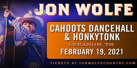 Jon Wolfe at Cahoots Friday February 19th (Rescheduled Date from 2020) tickets