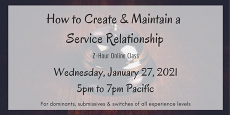 How to Create and Maintain a Service Relationship tickets