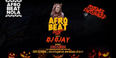 Afrobeat Party: Halloween Edition tickets