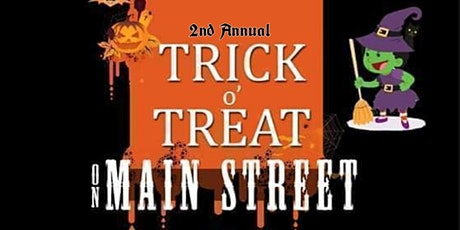 2nd Annual Trick Or Treat On Main Street tickets