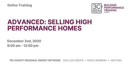 Advanced: Selling High Performance Homes tickets