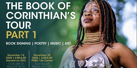 The Book of Corinthian's Signing Event *Intimate, Mindful, and Unplugged* tickets