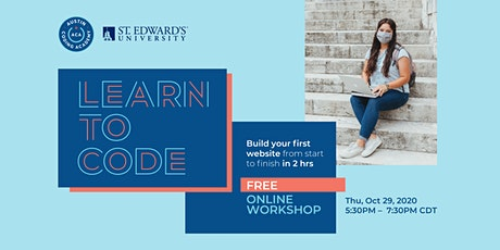 Austin Coding Academy at St. Edward's University   Learn to Code Workshop tickets
