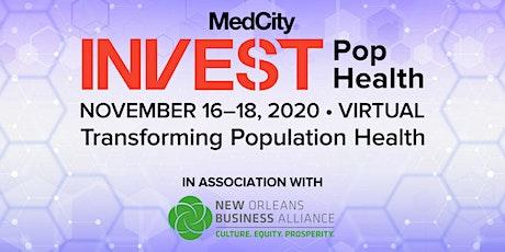 MedCity INVEST Population Health 2020 tickets