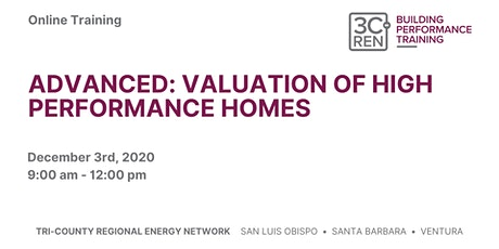 Advanced: Valuation of High Performance Homes tickets