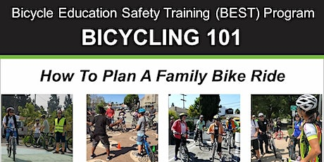 Bicycling 101: How to Plan a Family Bike Ride - Online Video Class tickets
