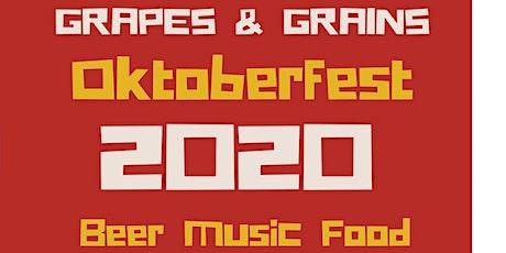 OKTOBERFEST AT GRAPES&GRAINS tickets