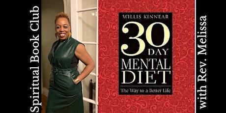 "Rev. Melissa: ""30-Day Mental Diet"" Spiritual Book Club tickets"