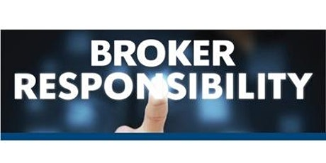 Broker Responsibility Course tickets