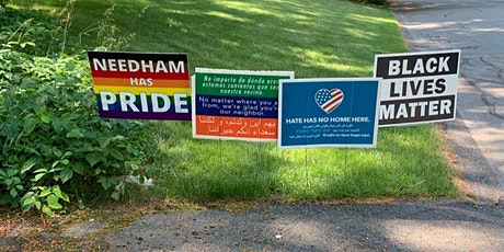 "Needham Diversity Summit 9.0- ""HATE HAS NO HOME HERE-Beyond the Yard Signs"" tickets"