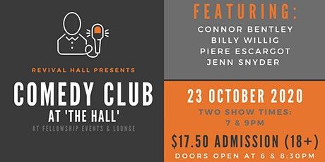 Comedy Club | Friday, Oct. 23 (18+) tickets