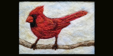 Needle Felt a Cardinal Painting tickets