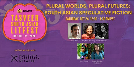 TSAL 2020 | Plural Worlds, Plural Futures: South Asian Speculative Fiction tickets