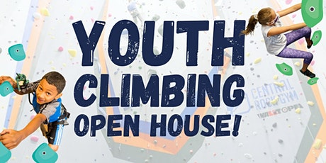 Youth Climbing Open House tickets