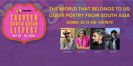 TSAL 2020 | The World That Belongs To Us: Queer Poetry from South Asia tickets