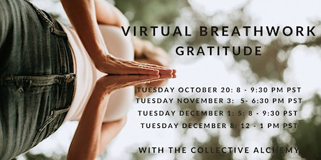 Virtual Breathwork - Gratitude tickets