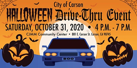 City of Carson Halloween Drive-Thru billets