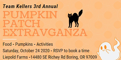Team Kellers' 3rd Annual Pumpkin Patch Extravaganza tickets