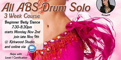 All Abs Drum Solo - 3 wk course tickets