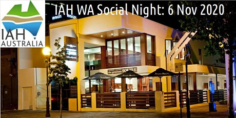 IAH WA Social Night tickets