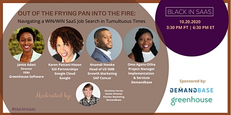 Out of the Frying Pan Into the Fire: Navigating a Win/Win SaaS Job Search tickets