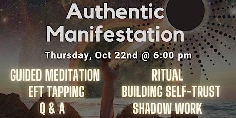Full Moon Women's Circle: Authentic Manifestation Workshop tickets
