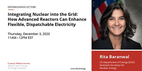 Distinguished Lecture by the U.S. Department of Energy's Rita Baranwal tickets