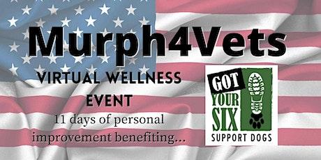 Murph4Vets Virtual Wellness Challenge tickets