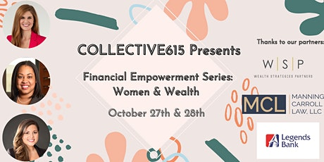 """Does the """"F"""" word intimidate you?  Join us for """"Financial Wellness!"""" tickets"""