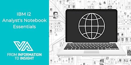 IBM i2 Analyst's Notebook Essentials tickets