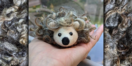 Needle Felt a Pocket Hedgehog Workshop tickets