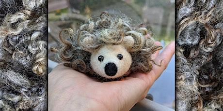 Needle Felt a Pocket Hedgehog Workshop