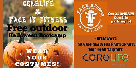Outdoor Halloween Boot Camp w/F.A.C.E. It Fitness and CoreLife tickets