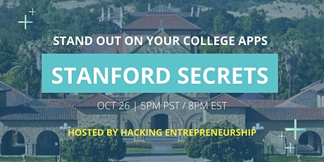 Stanford Success Secrets:  An Insider's Guide to Applying to Stanford tickets
