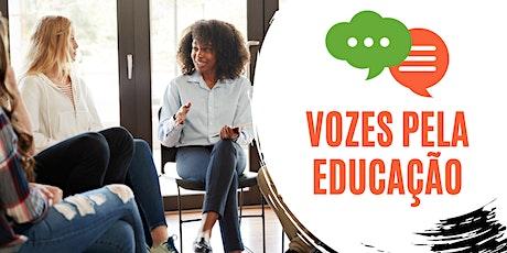 Vozes pela Educação ingressos