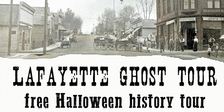 Lafayette Ghost Tour tickets