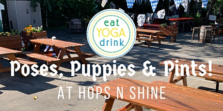 Poses, Puppies & Pints tickets