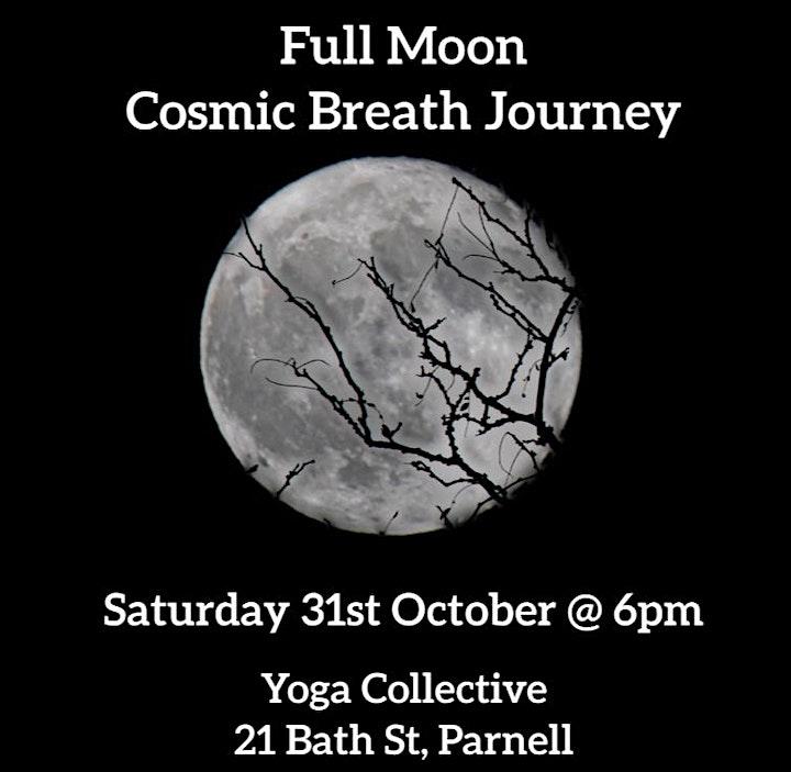 Full Moon Cosmic Breath Journey image