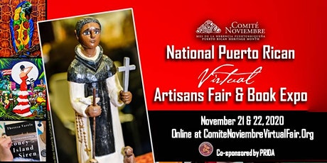 Comité Noviembre National Puerto Rican Virtual Artisans Fair & Book Expo entradas