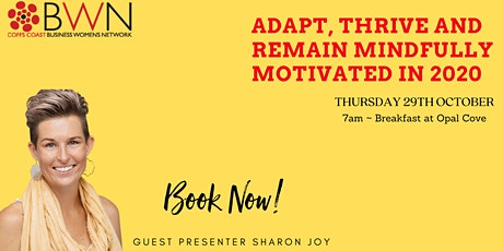 Adapt, thrive and remain mindfully motivated in 2020 tickets
