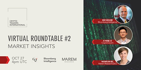 CTI Roundtable - Market Insights w/ Bloomberg, CryptoQuant & Marem Research tickets