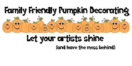 Pumpkin Decorating: Let your artist shine tickets